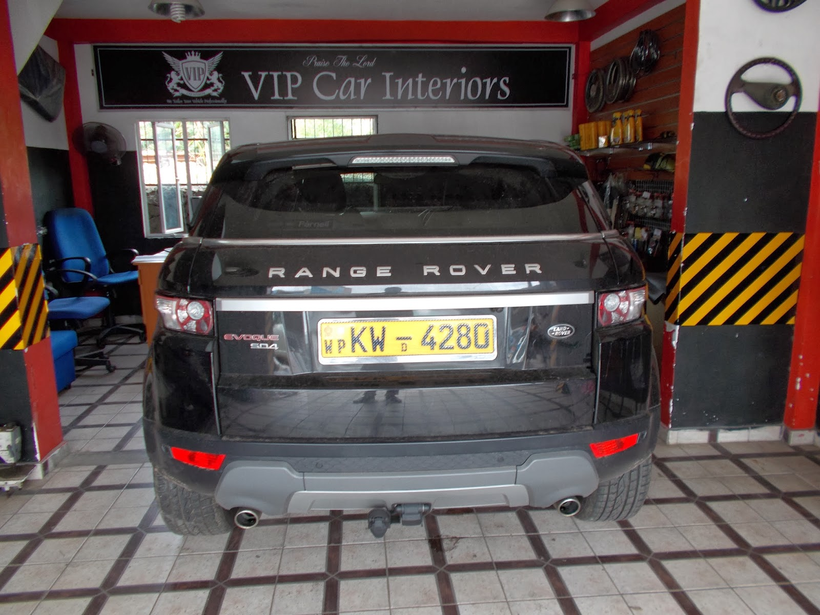 Range Rover Evoque 2013 Leather Seat Covers With Full Interior