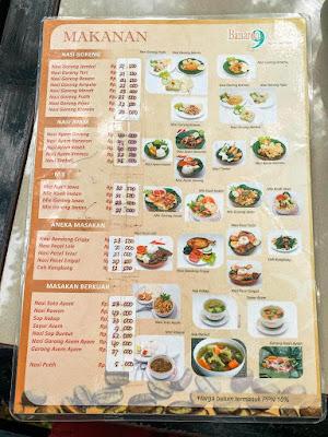 Menu makanan Banaran 9 Resto Coffee and Tea, Sensasi Ngopi di Alam Terbuka