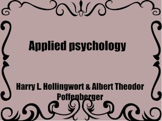 Applied psychology (1920)