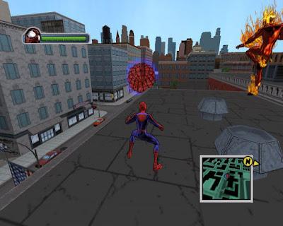 Ultimate Spiderman Game PC Ringan