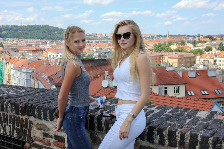 [Watch4Beauty] Jati & Dianna - Ukrainian Beauties In Prague