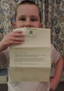 flick drummond letter from house of commons