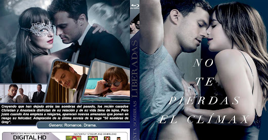 CINCUENTA SOMBRAS LIBERADAS - FIFTY SHADES FREED - 2018 [COVER - BLURAY]
