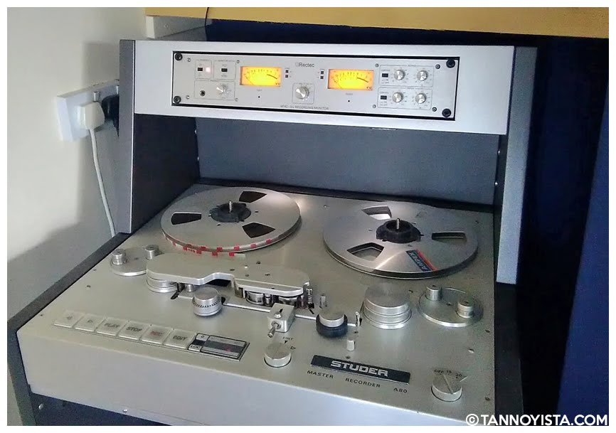 RECTEC M-142 and the Studer A80/R Reel to Reel machine