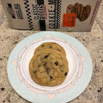 Préparation pour cookies aux pépites de chocolat de Classic Foods of America