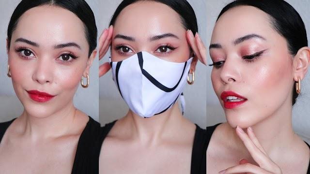 3 Trucos sencillos para LUCIR un maquillaje PERFECTO utilizando tapabocas