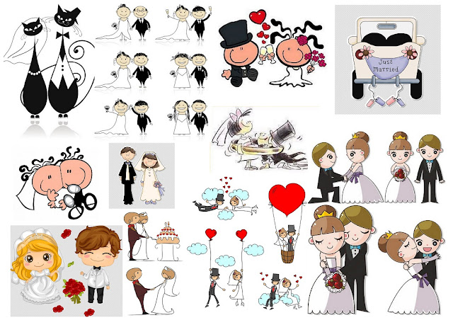 Images of Toon Couples.