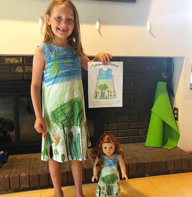 PICTURE THIS CLOTHING, La tienda que convierte los dibujos de los niños en moda