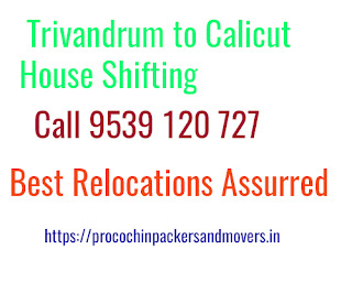 Trivandrum to Calicut Home Shifting