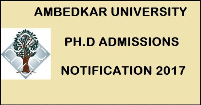 Ambedkar University AUD Admissions 2017