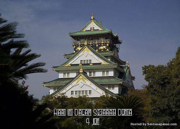 Istana kota Osaka