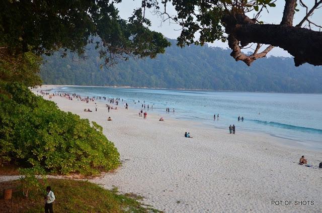 Radhanagar Beach, Best Places to visit in Andaman & Nicobar