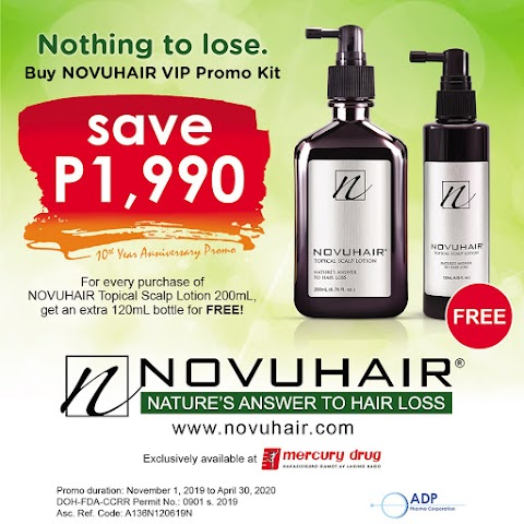 How to Get an Extra Bottle of Novuhair For Free #NothingToLoseNovuhair #ChooseNatural #NovuhairVipKit #NovuhairTenYears
