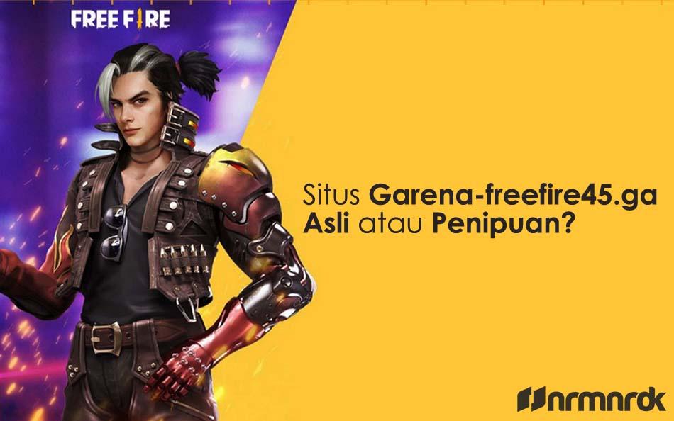 item FF gratis di Garena-freefire45.ga