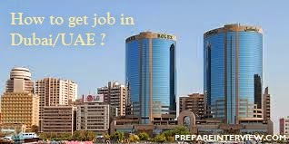 How to get job in Dubai/UAE/Singapore after B.E from India?