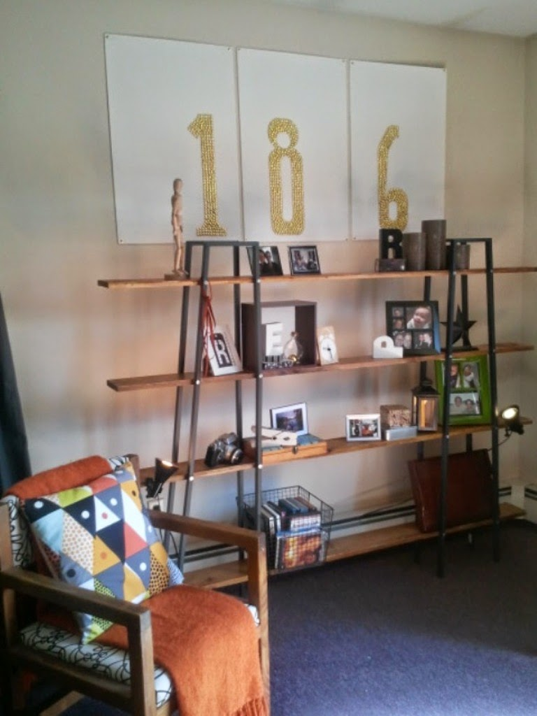 Ikea Hack Bookcase: Reclaimed Lerberg Etagere