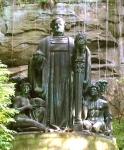 Prof. Richard Guhr: Richard-Wagner-Denkmal im Liebethaler Grund. 1912