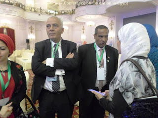 الحسينى محمد ( الخوجة) فى مؤتمر التعليم فى مصر