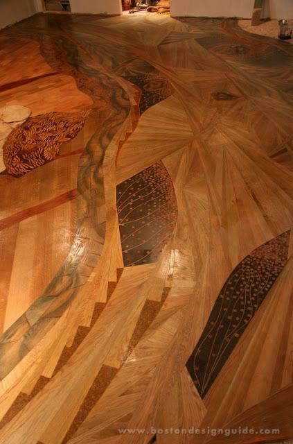 Lantai Kayu Minimalis Dengan Ukran Yang Unik Wajib Baca