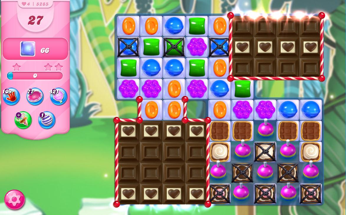 Candy Crush Saga level 5285