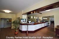 Rezeption Hotel Mueßer Hof Schwerin