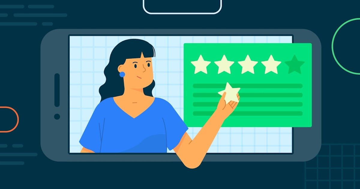 Nhiều review tích cực sẽ giúp tăng độ tin cậy cho ứng dụng của bạn