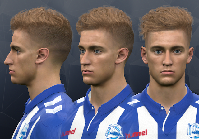 PES 2017 Marcos Llorente face by WER Facemaker