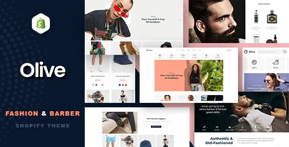 Best Fashion & Barber Store Shopify Theme
