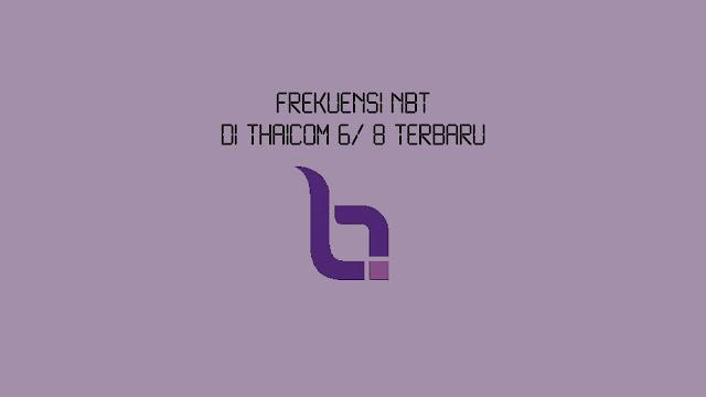 Frekuensi NBT di Thaicom 6 Terbaru