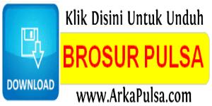 Download Brosur Kosongan Server Arkana Pulsa CV Sinar Surya Suryandaru Blora