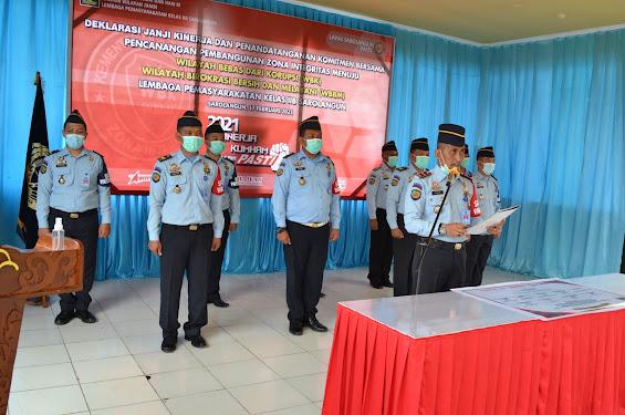 Apel Deklarasi Janji Kinerja dan Penandatanganan Komitmen Bersama 2021