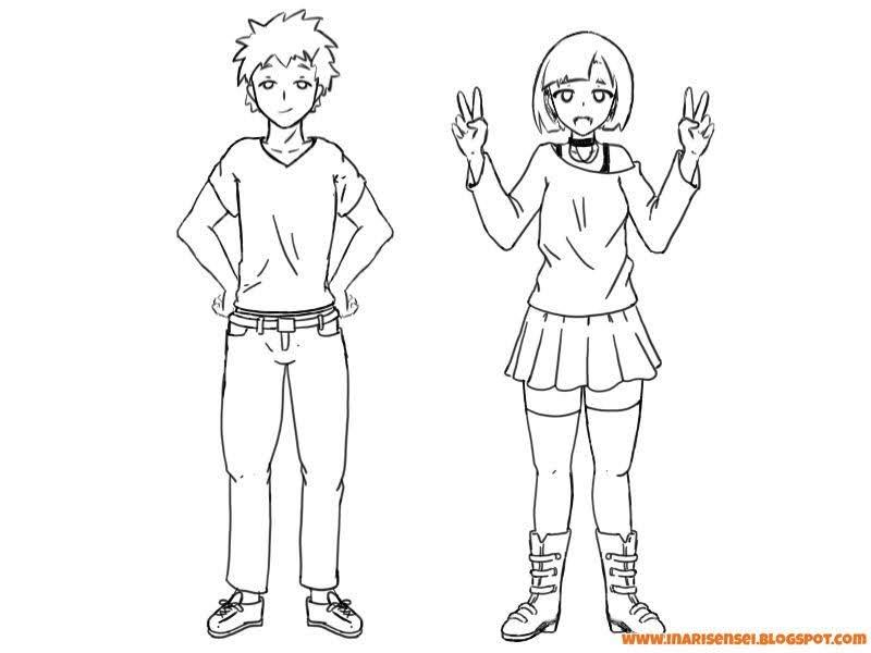 personnages habits mangas