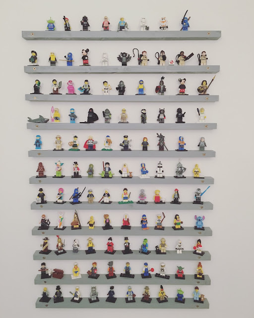 lego minifigures display