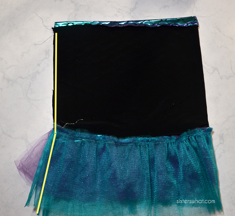 how to sew a mermaid skirt