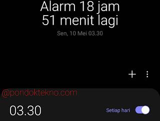 Cara Membuat Alarm Aktif Setiap Hari di Smartphone Samsung