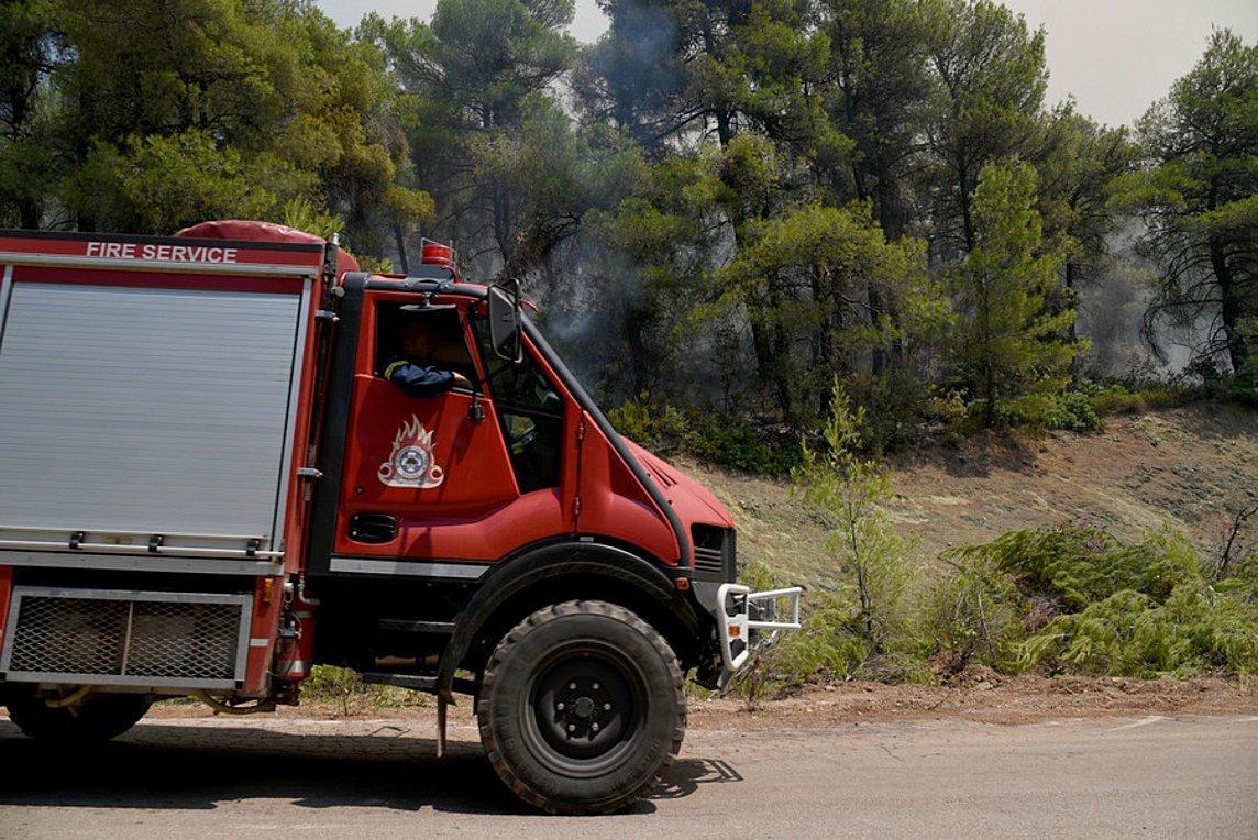 Υπό έλεγχο η πυρκαγιά στη Σιθωνία Χαλκιδικής