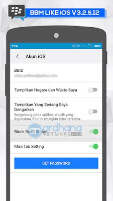 BBM LIKE iOS V3.2.5.12