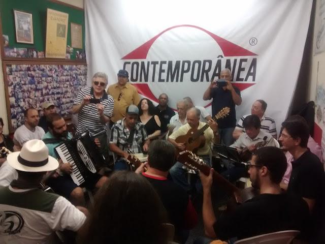 Chorinho da Contemporânea, em São Paulo.