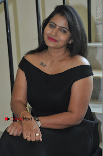 Telugu Actress Swathi Reddy Latest Stills in Black Gown  0074.JPG