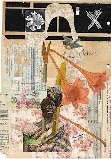 Colagem Luísa Mahin por Maria Rosa