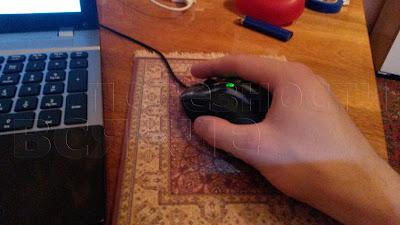 на персидском ковре для мышки удобно работать