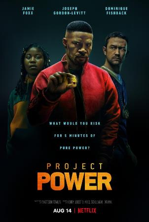 Showing Project Power (2020) Movie Poster