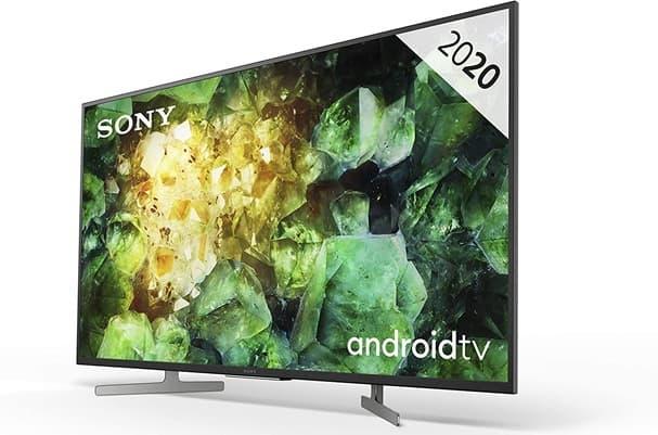 Sony KD-49XH8196PBAEP: Smart TV 4K de 49'' con Android TV, soporte HDR, sonido Dolby Atmos y control por voz