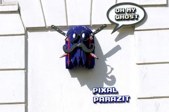 Sunday Street Art : Pixal Parazit - rue Jouy Rouve - Paris 20