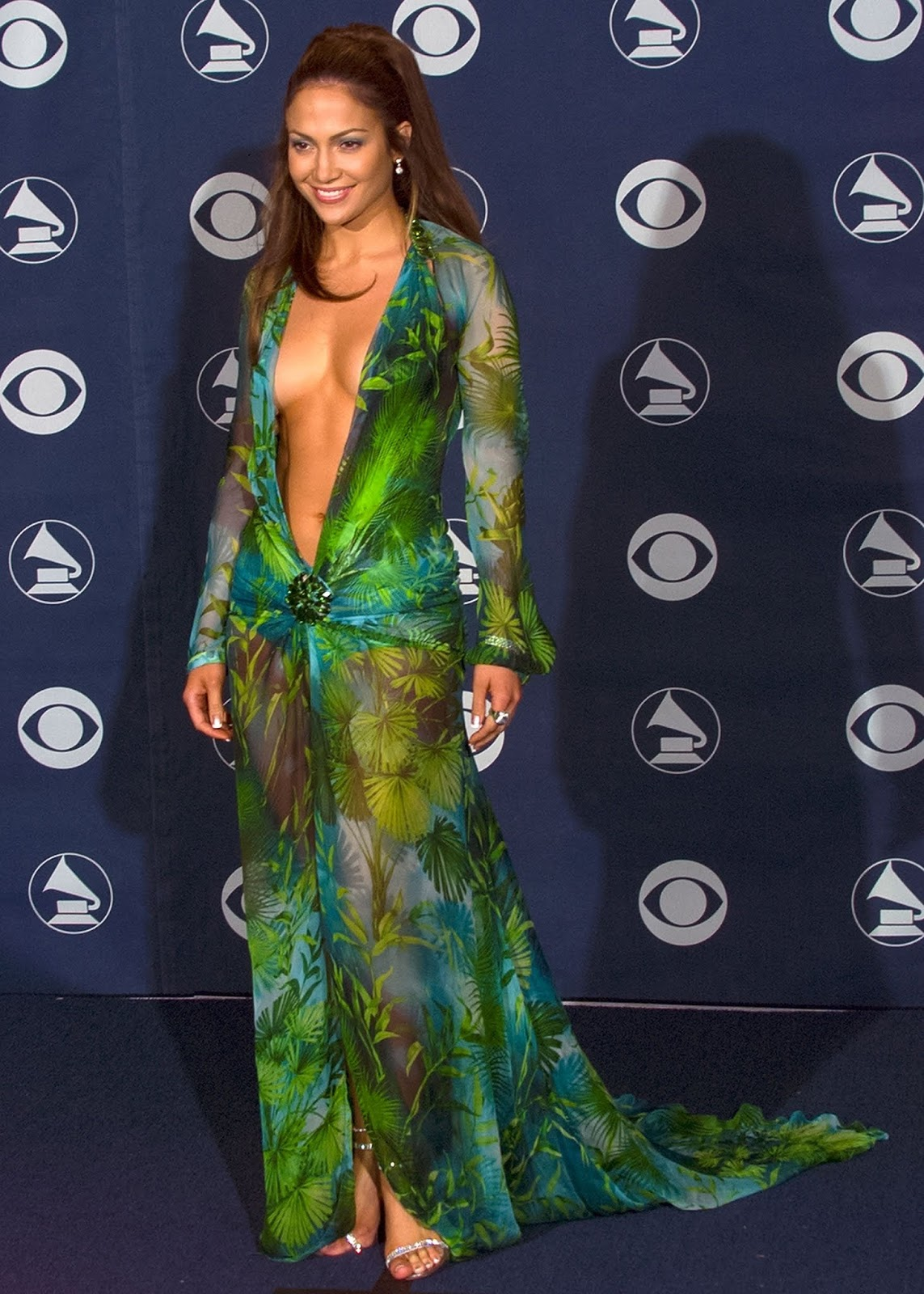 JLo's iconic 2000 Grammy's Versace look which led to the creation of Google Images