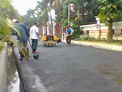 Tukang Aspal Jalan Hotmix Cirebon