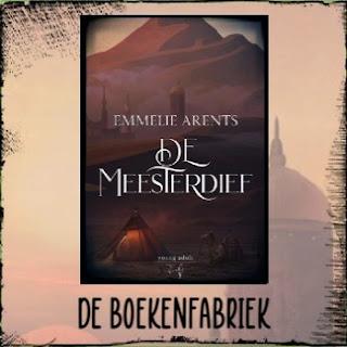 De boekenfabriek, recensie over De meesterdief van Emmelie Arents voor de blogtour georganiseerd door Hamley Books