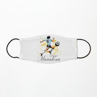 Mascarillas de fútbol maradona