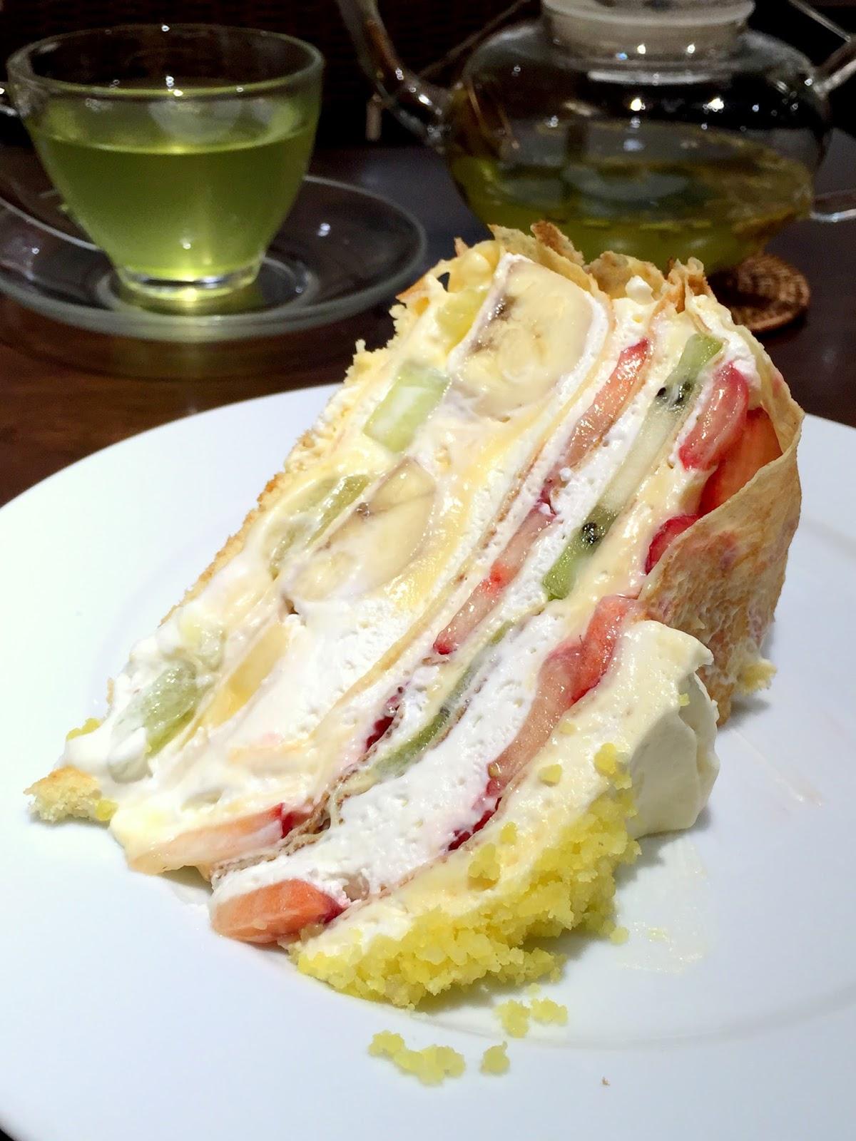 Crepe Cake Singapore Recipe