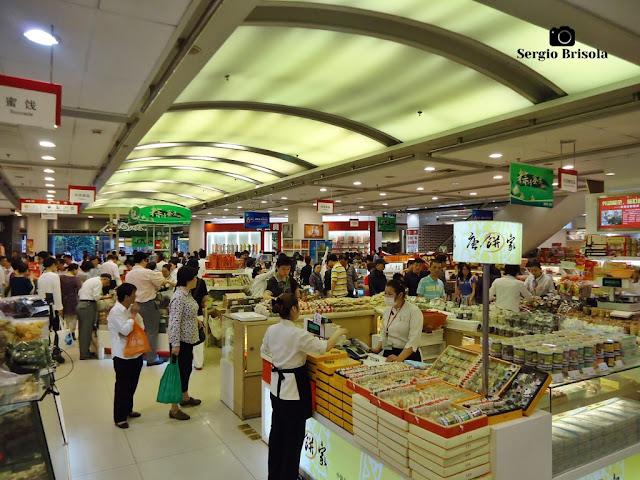 Inside a Supermarket 1 - Shanghai
